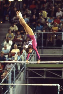 Gymnast at 1972 Summer Olympic Games in Munich Germany by John Dominis