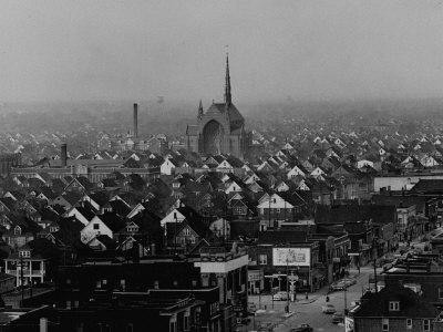 Hamtramck Section of Detroit Populated by Poles, Photo Essay Regarding Polish American Community