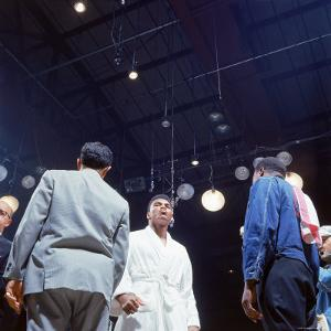 Heavyweight Boxer Cassius Clay, aka Muhammad Ali, After His Fight with Sonny Liston by John Dominis