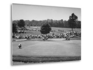 National Open Golf Championship Tournament at Oakmont Country Club in Pittsburgh by John Dominis