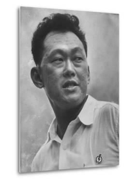 Prime Minister Kuan Yew Lee by John Dominis