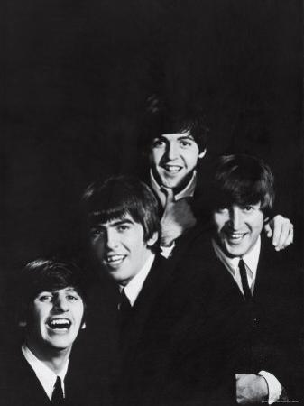 Ringo Starr, George Harrison, Paul McCartney and John Lennon of the English Rock Group the Beatles by John Dominis
