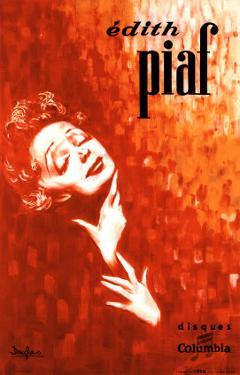 Edith Piaf by John Douglas