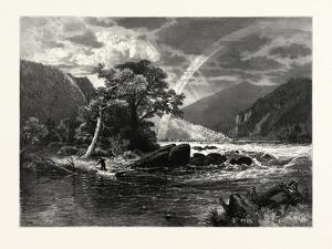 Balcony Falls, James River, Virginia, USA by John Douglas Woodward