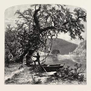 James River, Above Rope Ferry, Virginia, USA by John Douglas Woodward