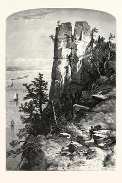 Pinnacles of the Palisades, USA by John Douglas Woodward