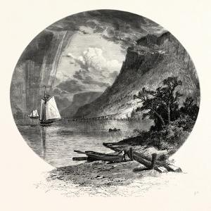 The Palisades, from the River by John Douglas Woodward