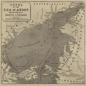 Chart of the Sea of Azoff and the Straits of Kertch and Yenikale by John Dower