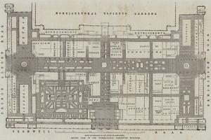 Ground Plan of the International Exhibition Building by John Dower