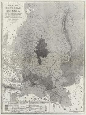 Map of European Russia Shewing its Earliest Extent by John Dower