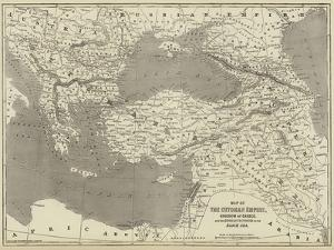 Map of the Ottoman Empire, Kingdom of Greece, and the Russian Provinces on the Black Sea by John Dower