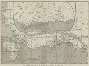 Maps of Africa, Upper Guinea, and the Gold Coast, Showing the Site of the Ashantee War by John Dower