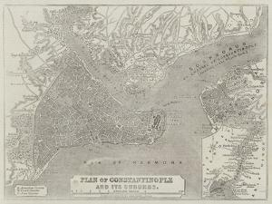 Plan of Constantinople and its Suburbs by John Dower
