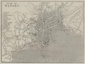 Plan of Naples by John Dower