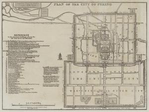 Plan of the City of Peking by John Dower