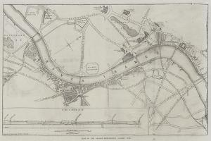Plan of the Thames Embankment, Surrey Side by John Dower