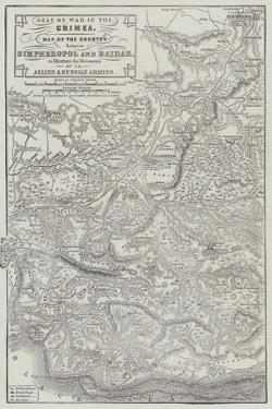 Seat of War in the Crimea by John Dower