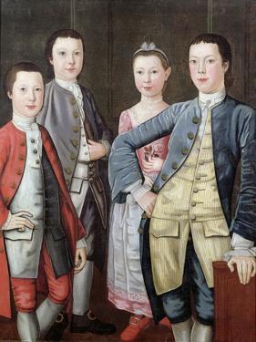 The Rapalje Children, 1768 by John Durand