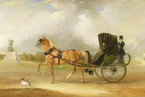 William Massey-Stanley Driving His Cabriolet in Hyde Park, 1833 by John E. Ferneley