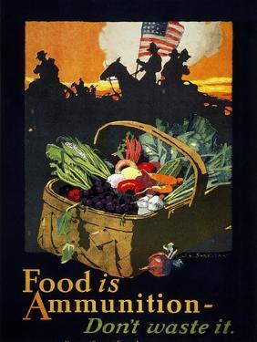 World War I: U.S. Poster by John E. Sheridan