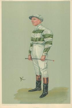 John E Watts, 1 October 1903, Vanity Fair Cartoon