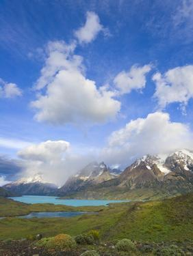 Cuernos del Paine Peaks by John Eastcott & Yva Momatiuk