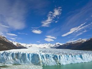 Perito Moreno Glacier and Patagonian Andes by John Eastcott & Yva Momatiuk