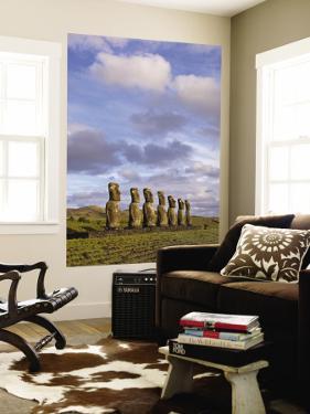 Ahu Aviki Moai Statues by John Elk III