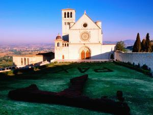 Basilica de San Francisco, Assisi, Umbria, Italy by John Elk III