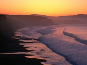 Drakes Bay at Sunrise, Point Reyes National Seashore, USA by John Elk III