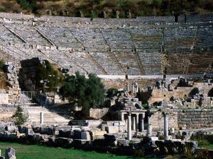 Great Theatre Ruin, Pergamum, Ephesus, Turkey by John Elk III