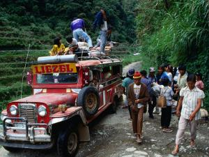 Jeepney Trip to Bangnan, Ifugao Province, Luzon, Southern Tagalog, Philippines by John Elk III