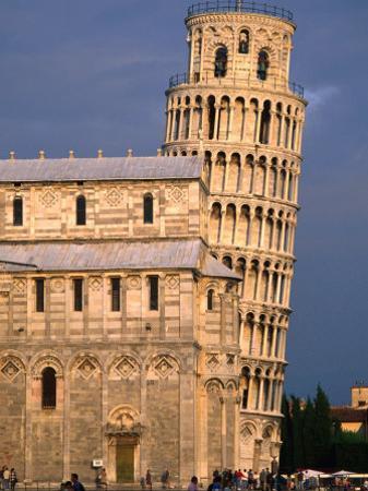 Leaning Tower, Pisa, Italy by John Elk III