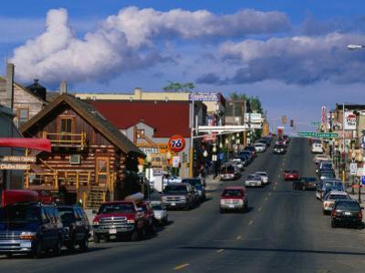 Main Street of Town, Ely, USA by John Elk III