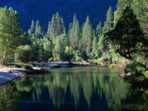 Merced River, Yosemite National Park, USA by John Elk III