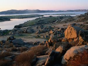Millerton Lake Landscape, San Joaquin, California by John Elk III