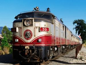 Napa Valley Wine Train, Napa Valley, California by John Elk III