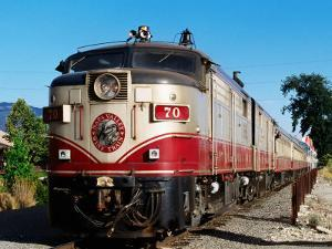 Napa Valley Wine Train, Napa Valley, California by John Elk III
