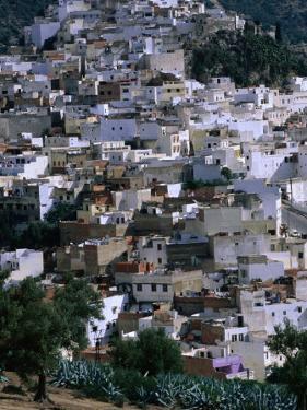 Overhead of Moulay Idriss, Meknes, Morocco by John Elk III