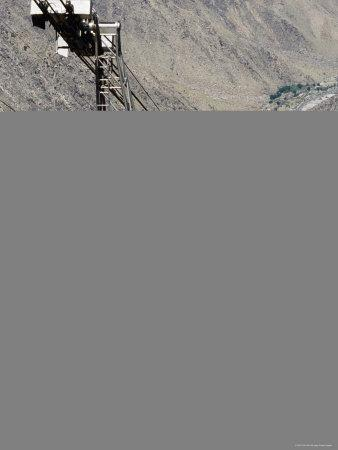 Palm Springs Aerial Tramway Seen from Mountain Station, Palm Springs, California