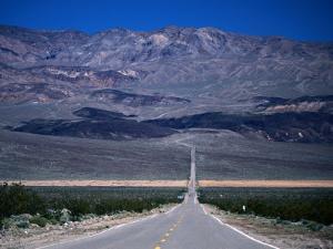 Park Road, Death Valley National Park, California by John Elk III
