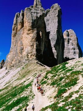 Passo Lavaredo, Dolomiti di Sesto Natural Park, Italy by John Elk III