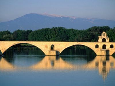 Pont Saint Benezet (Le Pont D' Avignon) Across the Rhone River, Avignon, France by John Elk III