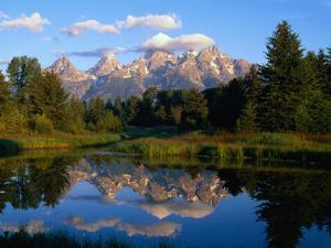 Teton Range, Grand Teton National Park, USA by John Elk III