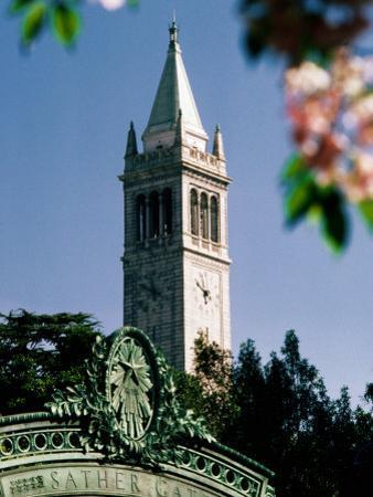 University of California, the Campanile, Alamada County, Berkeley, California by John Elk III