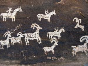 Ute Indian Petroglyphs by John Elk III