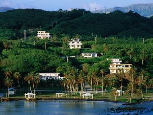 Waterfront Houses, Inarajan, Guam by John Elk III