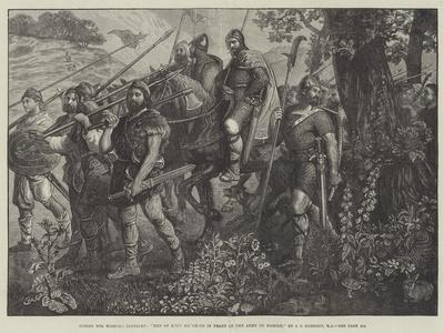 Men of Kent Marching in Front of the Army of Harold