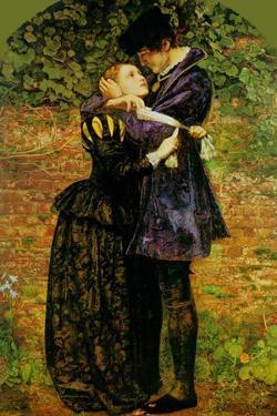 A Huguenot on St. Bartholomew's Day by John Everett Millais