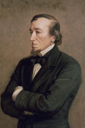 Benjamin Disraeli, Earl of Beaconsfield, (Detail), 1881 by John Everett Millais